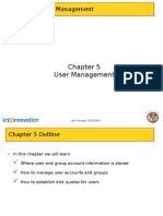 Chapter 5 User Management