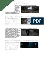 Scene Analysis of Radioactive