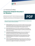 10 Reasons to Buy Kaspersky Endpoint Security for Window Doc