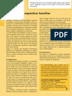 Paraparesia Espastica Familiar