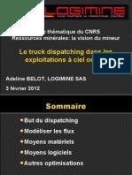 A. Belot - Truck dispatching dans les exploitations a ciel ouvert.pdf