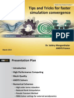 Tips and Tricks for Faster Simulation Convergence v6