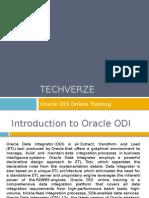 Oracle ODI Online Training