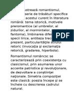 Poezia ilustrează romantismul