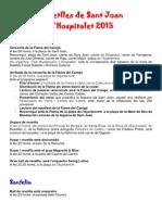 Revetlles de Sant Joan L'Hospitalet 2015