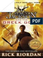 Percy Jackson and the Greek Gods Extract