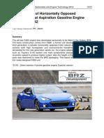 Subaru FA20 D-4S Engine Paper