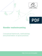 Gender Mainstreaming Good Practices