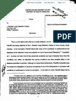 Bragg v. J Ruben Long Detention Center et al - Document No. 5