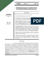 N-2035b Apresentação de Projetos de Estruturas Metálicas