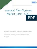 Medical Alert Systems Market