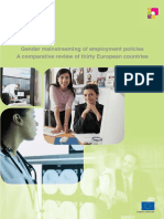 Gender Mainstreaming in Employment Policy EU