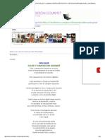 Emplatar Presentación de Platillos y Comidas, Montaje de Platos y Tecnicas Para Emplatar_ Contenido