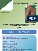 Presentasi Kasus Spondilitis Tb