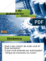 CURSO DE AUTOMAÇÃO AULA 1