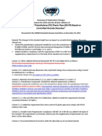 Summary of Changes - ASTM D3035 (2010-2012e1)
