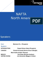 Peregrine Webinar Slides - NAFTA in North America