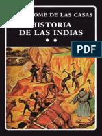 Bartolomé de Las Casas Historia de Las Indias