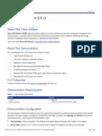 Cisco UCS Director 5.0 v1 Demo Script