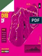 Mapa Adidas 21k