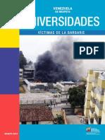 LIDO Venezuela Se Respeta Universidades Víctimas de La Barbarie