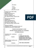 Allergan IPR Extortion Complaint