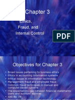 Ethics, Fraud, And Internal Control