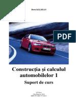 Doru BALDEAN, Calculul Si Constructia Autovehiculelor 1, Curs (2)