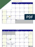 Step Into Summer 2015 Calendar