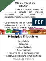 AULA 3 - ESCRITA FISCAL - Limites de Tributar, Principios Tributários