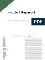Module 3 Repaso 1