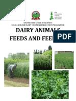 Dairy Animals Feeds and Feeding