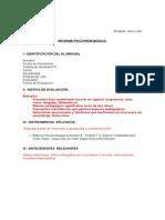 informe evalua 9
