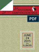 Sale Catalog - National Convention Sale