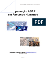 Programacao ABAP HR