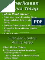Audit Aktiva Tetap
