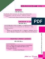 Programa 'Abril en Tarija' 2015