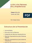 CC51A Clase13-14 Patrones Arquitectonicos