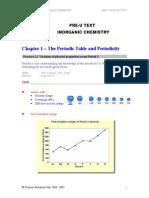Inorganic Chemistry Chapter 01