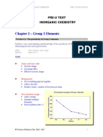 Inorganic Chemistry Chapter 02a