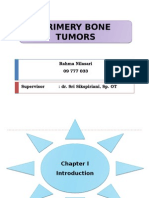 Referat Primery Bone Tumors