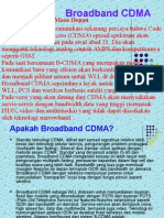 Broadband CDMA
