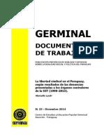 LA LIBERTAD SINDICAL EN EL PARAGUAY - MARCELO LACHI - N 23 DICIEMBRE 2014 - PORTALGUARANI