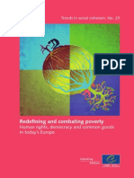 Redifining and combating poverty