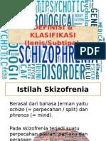 Definisi Dan Klasifikasi Skizofrenia