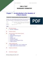 Inorganic Chemistry Chapter 07