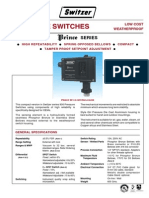 Pressure Switch Prince 901