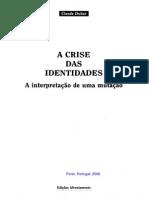 DUBAR Crise Identidades