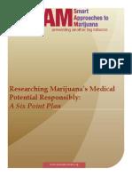 Researching Marijuana's Medical Potential Responsibly