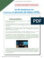 Tema-4 FHW Implantación de Hardware en Centros de Proceso de Datos (CPD)